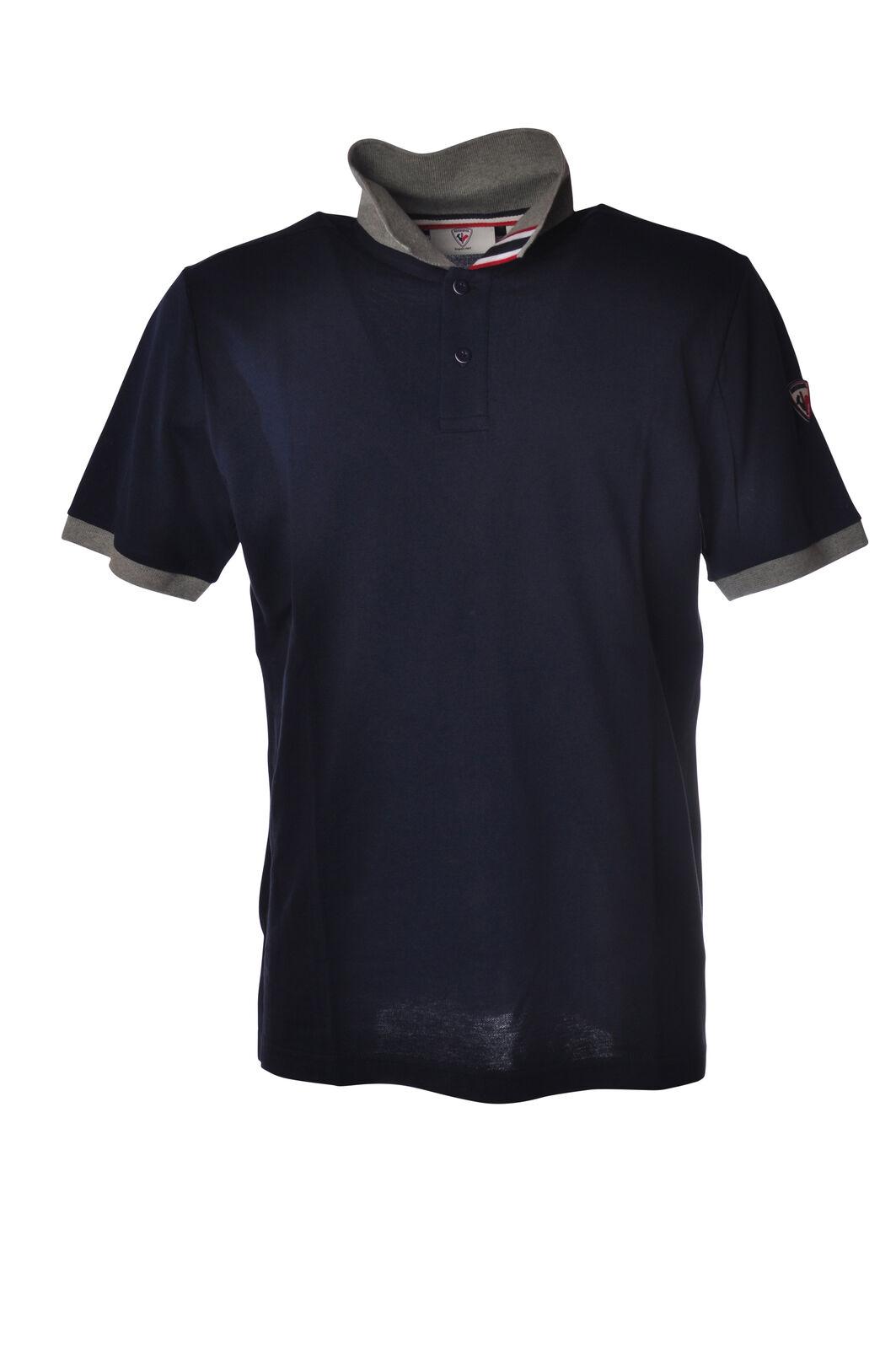 Rossignol - Topwear Polo - Mann - Blau - 5208213D184028