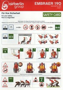 SAFETY-CARD-Air-Berlin-Group-Embraer-190-op-by-LGW-Issue-1