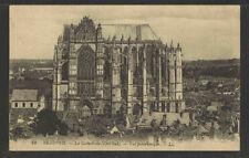 1910s BEAUVAIS LA CATHEDRALE (COTE SUD) VUE PANORAMIQUE FRANCE POSTCARD