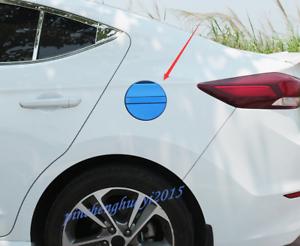 Blue Car Fuel Tank Cap Gas Oil Box Cover Trim For Hyundai Elantra