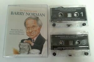 SPOKEN-WORD-CASSETTE-An-Audience-With-Barry-Norman-Film-Critic-2004-X2-Tapes