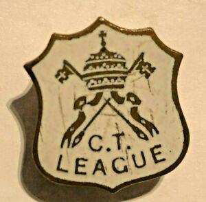 Catholic-C-T-League-Enamel-Badge