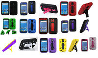 Kickstand Hybrid Case for Samsung Galaxy S 2 II S2 X SGH-T989 for T-Mobile Phone
