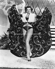 SEXY LEGGY JANE RUSSELL SO HOT AND LEGGY!  BELLY BUTTON  8 X 10 PHOTO A-JR11