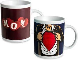 Magic Mug I Love You To The Moon And Back Heat Sensitive CoffeeTea Cup Morphing