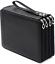 Zwini 120 Inserting Large Pencil Case 3 Multi-Layer Capacity Pencil Bag PU for