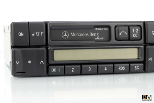 Original Mercedes-Benz Classic autoradio becker be2010 w124 w202 w210 r129 AMG
