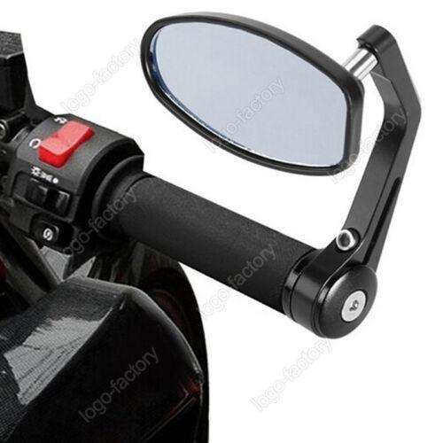 22mm Aluminum Rear View Side Mirror Handle Bar End For Suzuki GSXR600 750