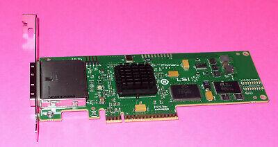 LSI H3-25140-02D 16-Port 6Gbps PCIe SAS SATA HBA Controller Card sas9200-16e