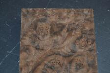 Walnut Burl Raw Wood Veneer Sheet 55 X 105 Inches 142nd Thick 7649 2