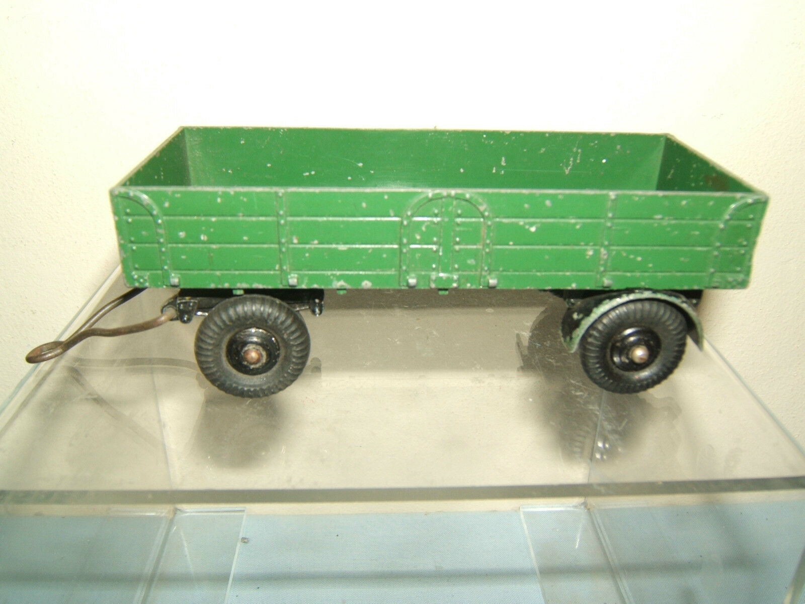 DINKY SUPERTOYS  MODEL No.551  TRAILER   LARGE       (  RARE GREEN VERSION   )