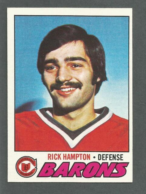 1977-78 Topps Hockey Rick Hampton #63 Cleveland Barons NM/MT