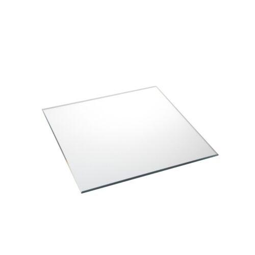 OASIS WEDDINGS HOME FLORISTRY SKU GLM 1003 Square Mirror Plate L25cm