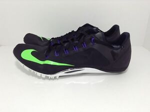 buy popular f78a4 a18f8 Image is loading Nike-Zoom-Superfly-R4-Track-Spikes-Black-526626-