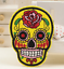 Sugar-Candy-Skull-Iron-On-Patch-Badge-Day-of-the-Dead-Transfer-Jacket-Hat-Bag thumbnail 7