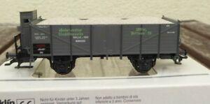 MARKLIN-46037-Insider-Wagen-2001-Niederlausitzer-Glashuettenwerke-neuwertig-Ep-1