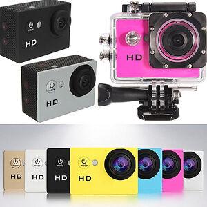 2.0inch Waterproof Sports DV Action Full 1080P Mini Car Video Camera Dainty