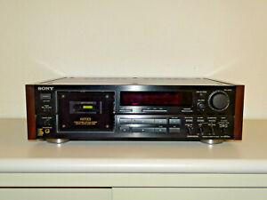 Sony TC-K870ES High-End Kassettendeck mit Holzteilen, neue Riemen, 2J. Garantie