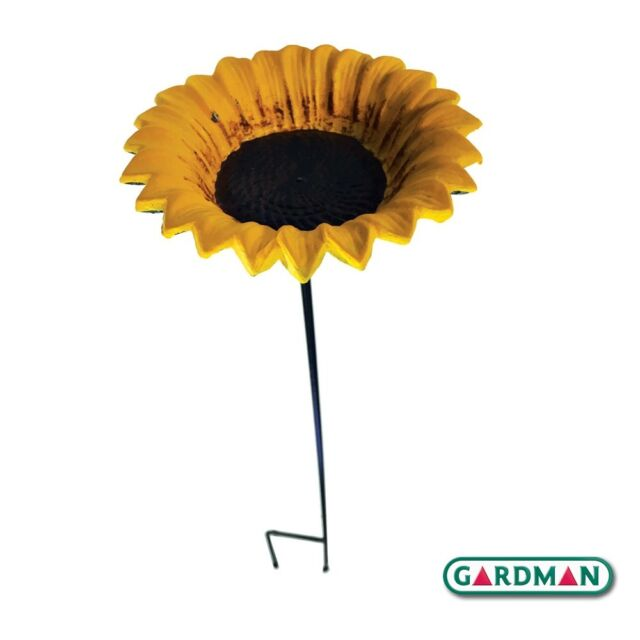 Gardman Cast Iron Sunflower Bird Feeder Free Delivery