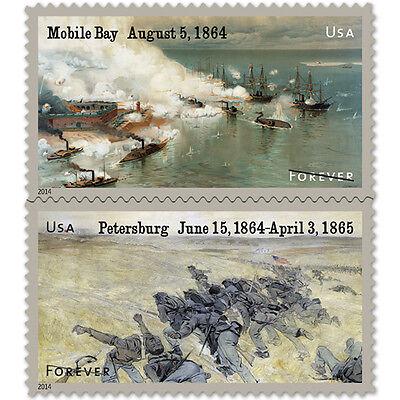 USPS New The Civil War: 1864 Souvenir Sheet of 12 Stamps