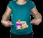 NUEVO-premama-10-20-Algodon-Bebe-Due-in-ENERO-Tunica-Camiseta-Graciosa-0001
