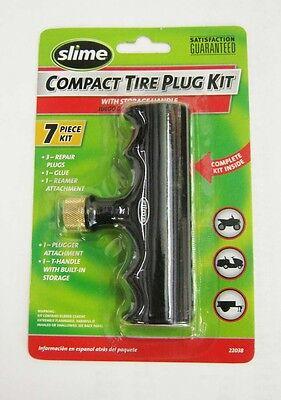 Slime 7 piece Compact Tire Plug Repair Kit
