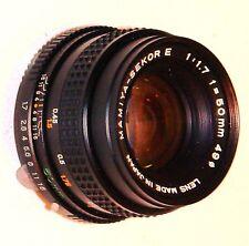 Mamiya-Sekor E 50mm Lente f1.7