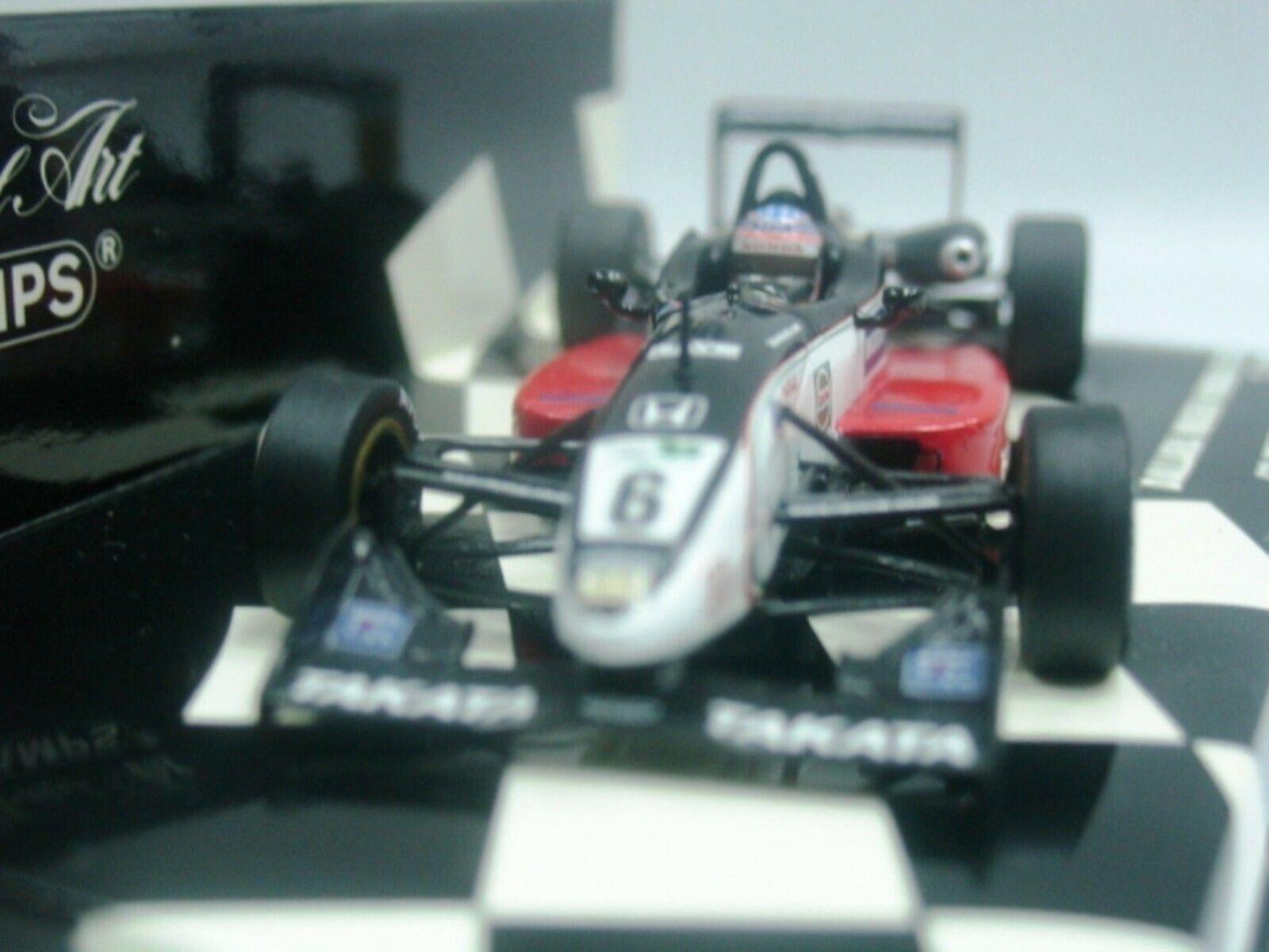 Wow extrêmement rare Dallara F301 Mugen Sato Winner Oulton 2001 F3 1 43 Minichamps