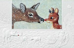 christmas cards nosey deer pumpernickel press made in the usa