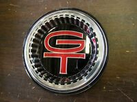 Repro. Ford 1966 Fairlane Gt Grille Ornament Emblem Insert Plastic