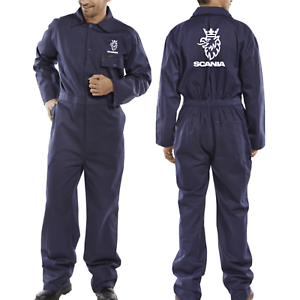 Navy Quality Portwest Boilersuit Coverall Scania Volvo All Sizes Stud Fastening
