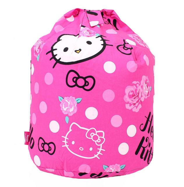 Hello Kitty Sommerwind Pink Cotton Bean Bag For Sale Online Ebay