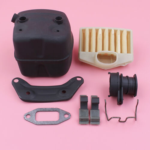 Exhaust Muffler Air Filter Intake Manifold For Husqvarna 362 365 371 372Chainsaw