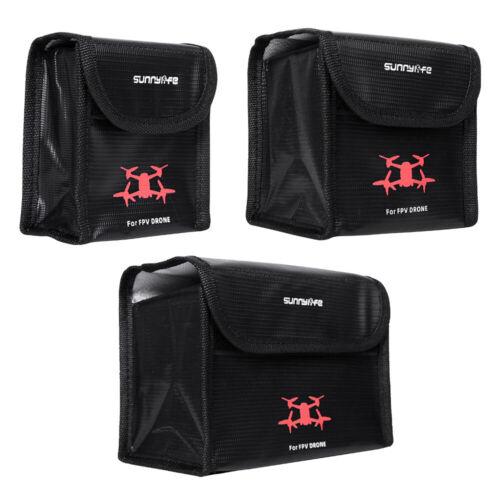 Details about  /Explosion-Proof Battery Safe Bag Storage Case For DJI FPVDrone FPV Goggles V2