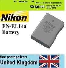 Genuine Original NIKON EN-EL14a Battery CoolPix P7800 P7700 DF D3300 D5300 D5500