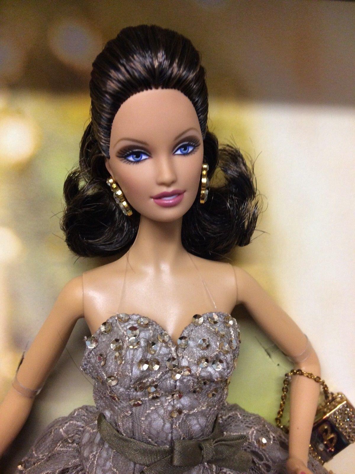Platinum label, Judith Leiber Barbie doll NRFB Beautiful