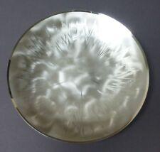 Wunderschöne versilberte WMF Schale, EP Brass Germany, 50er Jahre, D: 24 cm