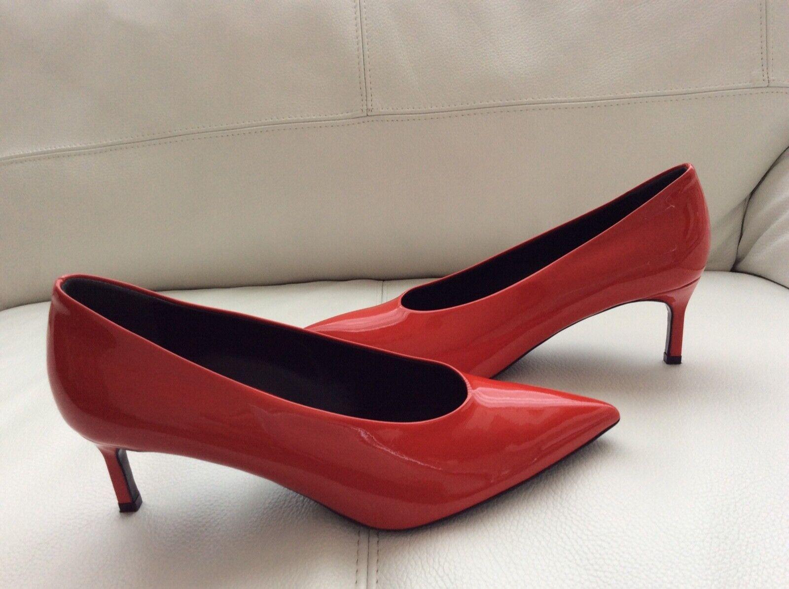 NEW VIA SPRINGA Bailey 2 Pump  rosso Patient Leather US 6.5  fino al 42% di sconto