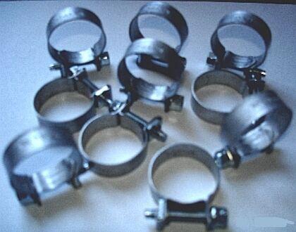 "FUEL LINE HOSE CLAMPS 14-16mm BAG OF 10 0.54/""-0.63/"""