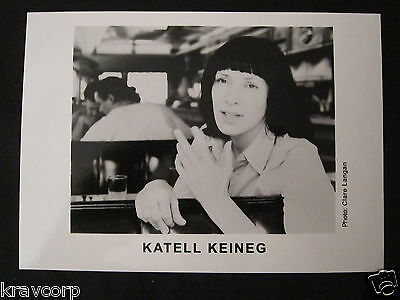 Forceful Katell Keineg--publicity Photo Excellent Quality In