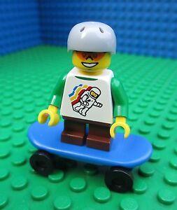 Lego Skateboarder Skateboard 3 Board City Town Minifigs Minifigures