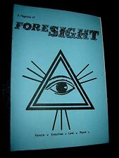 A MAGAZINE OF FORESIGHT #50 - 1978 Paranormal New Age British Publication