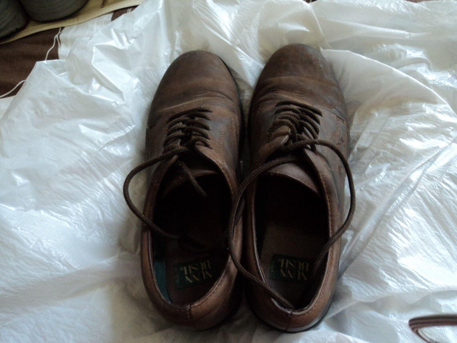 Nunn Bush Men's  Brown Leather Shoes Size  Men's 9.5 W 1d9c27