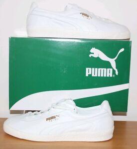 white Leather Trainers Te-Ku 365420 02