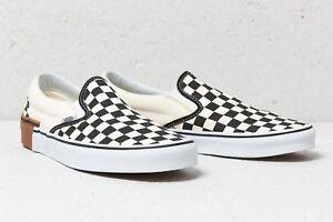 83b94e0604bf00 Vans Classic Slip-On Gum Block Checkerboard Shoes Men s size 11 ...