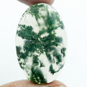 Cts-58-05-Natural-Designer-Moss-Agate-Cab-Oval-Cabochon-Loose-Gemstone