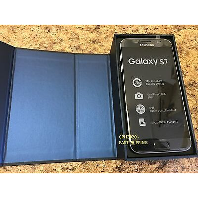 Samsung Galaxy S7 SM-G930A  32GB Black Onyx (AT&T, T-Mobile) Phone - Unlocked
