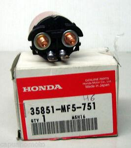 NEW OEM Honda 35851-MF5-751 STARTER MAGNETIC SWITCH