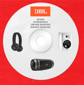 Details about JBL Audio Repair Service owner manuals on 1 dvd in pdf on