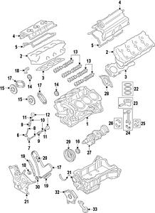 Mazda CA01-12-440 Engine Camshaft